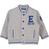 Everton Infant Bomber Jacket - Grey Marl - Unisex