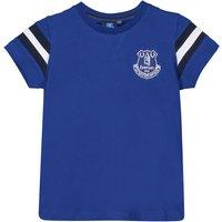 Everton Core Basic T-Shirt with Stripe- Royal- Infant Boys