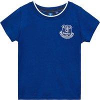 Everton Core Basic Tipped Collar T-Shirt- Royal-Infant Boys