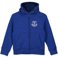 Everton Core Zip Thru Hoodie - Royal - Junior Boys