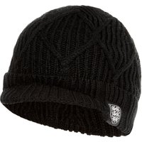 England Flat Peak Hat - Black - Mens