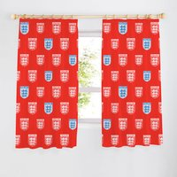 England FA Crest Curtains 72 inch - Red