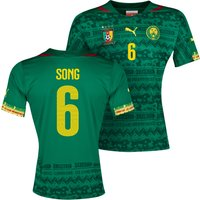 Cameroon Home Shirt 2013/14 with Song 6 printing