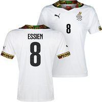 Ghana Home Shirt 2013/14 with Essien 8 printing