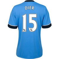 Tottenham Hotspur Away Shirt 2015/16 - Womens Sky Blue with Dier 15 printing