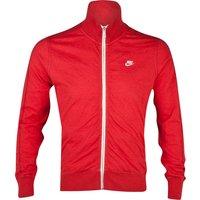 Nike N98 Jacket - Sport Red Heather/Sail