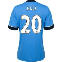Tottenham Hotspur Away Shirt 2015/16 - Womens Sky Blue with Alli 20 printing