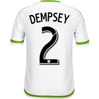 Seattle Sounders Away Shirt 2015-16 with Dempsey 2 printing