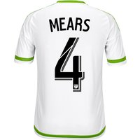Seattle Sounders Away Shirt 2015-16 with Tyrone Mears 4 printing