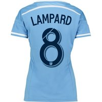 New York City FC Home Shirt 2015-16 - Womens with Lampard 8 printing