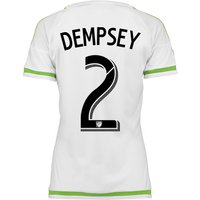 Seattle Sounders Away Shirt 2015-16 - Womens with Dempsey 2 printing