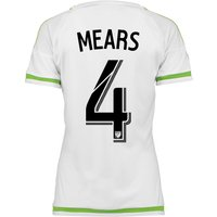 Seattle Sounders Away Shirt 2015-16 - Womens with Tyrone Mears 4 printing