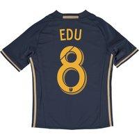 Philadelphia Union Home Shirt 2016 - Kids with Maurice Edu 8 printing