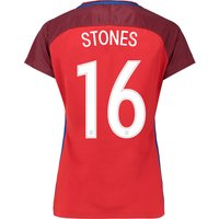 England Away Shirt 2016 - Womens with Stones 16 printing