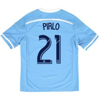 New York City FC Home Shirt 2015-16 - Kids with Andrea Pirlo 21 printi