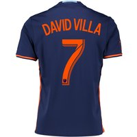 New York City FC Away Shirt 2016 with David Villa 7 printing