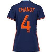 New York City FC Away Shirt 2016 - Womens with Chanot 4 printing