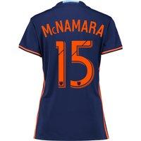 New York City FC Away Shirt 2016 - Womens with McNamara 15 printing