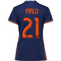 New York City FC Away Shirt 2016 - Womens with Andrea Pirlo 21 printin