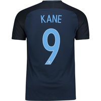 England Away Vapor Match Shirt 2017-18 with Kane 9 printing