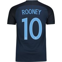 England Away Vapor Match Shirt 2017-18 with Rooney 10 printing