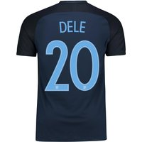 England Away Vapor Match Shirt 2017-18 with Dele 20 printing
