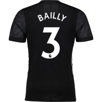 Manchester United Away Adi Zero Shirt 2017-18 with Bailly 3 printing