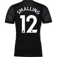 Manchester United Away Adi Zero Shirt 2017-18 with Smalling 12 printing