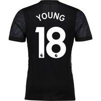 Manchester United Away Adi Zero Shirt 2017-18 with Young 18 printing