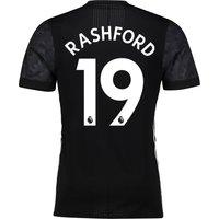 Manchester United Away Adi Zero Shirt 2017-18 with Rashford 19 printing