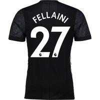 Manchester United Away Adi Zero Shirt 2017-18 with Fellaini 27 printing