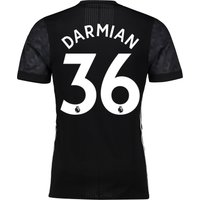 Manchester United Away Adi Zero Shirt 2017-18 with Darmian 36 printing