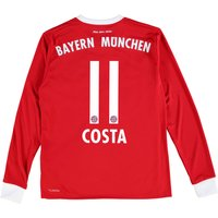 Bayern Munich Home Shirt 2017-18 - Kids - Long Sleeve with Costa 11 printing