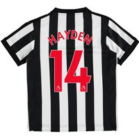 Newcastle United Home Shirt 2017-18 - Kids with Hayden 14 printing