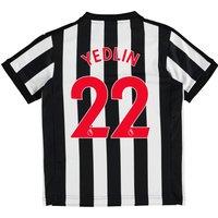 Newcastle United Home Shirt 2017-18 - Kids with Yedlin 22 printing