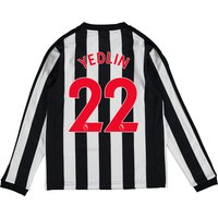 Newcastle United Home Shirt 2017-18 - Kids - Long Sleeve with Yedlin 22 printing