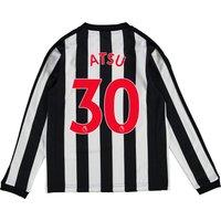 Newcastle United Home Shirt 2017-18 - Kids - Long Sleeve with Atsu 30 printing