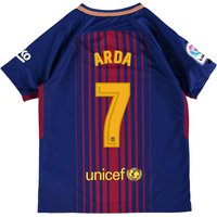 Barcelona Home Stadium Shirt 2017-18 - Kids with Arda 7 printing