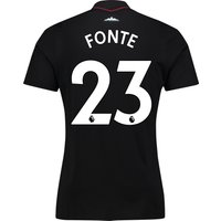 West Ham United Away Shirt 2017-18 - Kids with Fonte 23 printing