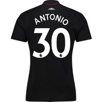 West Ham United Away Shirt 2017-18 - Kids with Antonio 30 printing
