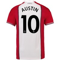 Southampton Home Shirt 2017-18 with Austin 10 printing