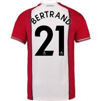 Southampton Home Shirt 2017-18 with Bertrand 21 printing