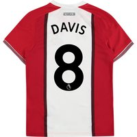 Southampton Home Shirt 2017-18 - Kids with Davis 8 printing