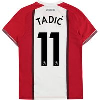 Southampton Home Shirt 2017-18 - Kids with Tadic 11 printing