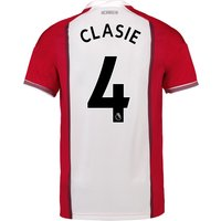 Southampton Home Shirt 2017-18 with Clasie 4 printing