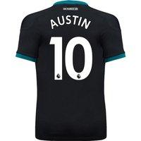 Southampton Away Shirt 2017-18 With Austin 10 Printing