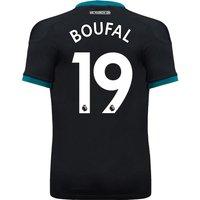 Southampton Away Shirt 2017-18 With Boufal 19 Printing