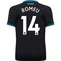 Southampton Away Shirt 2017-18 - Kids with Romeu 14 printing