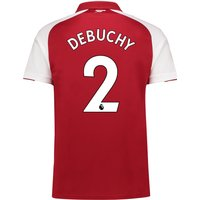 Arsenal Home Shirt 2017-18 - Outsize with Debuchy 2 printing