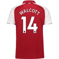 Arsenal Home Shirt 2017-18 - Outsize with Walcott 14 printing